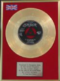 "LITTLE RICHARD- 7""Gold Disc-BY THE LIGHT OF THE SILVERY"
